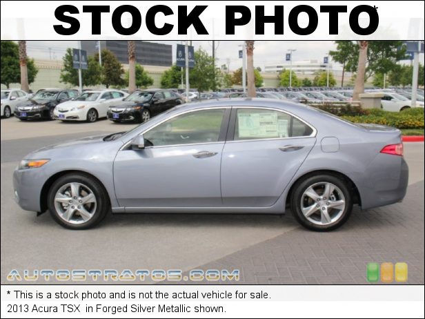 Stock photo for this 2013 Acura TSX  2.4 Liter DOHC 16-Valve i-VTEC 4 Cylinder 5 Speed Sequential SportShift Automatic