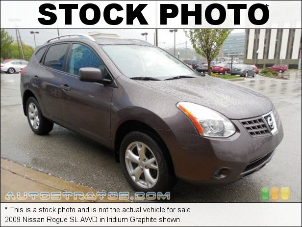 Stock photo for this 2009 Nissan Rogue SL AWD 2.5 Liter DOHC 16-Valve CVTCS 4 Cylinder Xtronic CVT Automatic