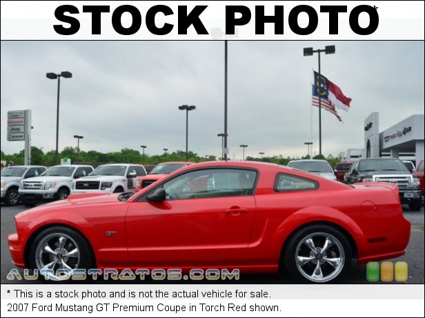 Stock photo for this 2007 Ford Mustang  4.6 Liter Roush Supercharged SOHC 24-Valve VVT V8 5 Speed Manual