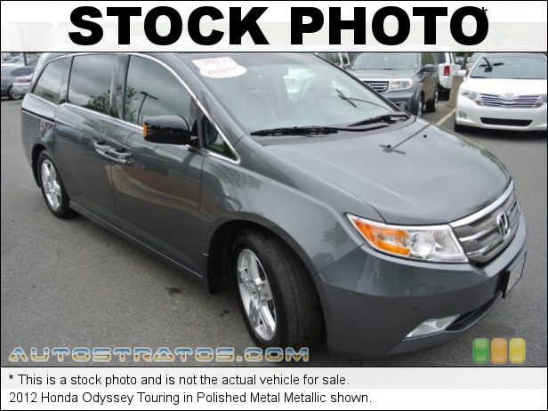 Stock photo for this 2012 Honda Odyssey Touring 3.5 Liter SOHC 24-Valve i-VTEC V6 6 Speed Automatic