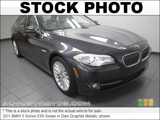 Stock photo for this 2011 BMW 5 Series 535i Sedan 3.0 Liter TwinPower Turbocharged DFI DOHC 24-Valve VVT Inline 6 6 Speed Manual