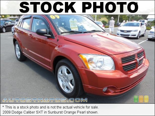 Stock photo for this 2009 Dodge Caliber SXT 2.0 Liter DOHC 16-Valve Dual VVT 4 Cylinder CVT Automatic