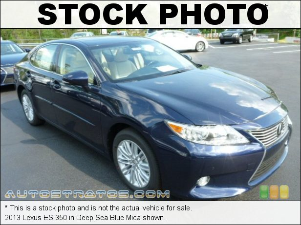 Stock photo for this 2013 Lexus ES 350 3.5 Liter DOHC 24-Valve VVT-i V6 6 Speed ECT-i Automatic
