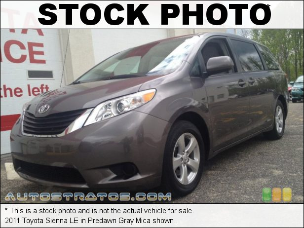 Stock photo for this 2011 Toyota Sienna LE 3.5 Liter DOHC 24-Valve VVT-i V6 6 Speed ECT-i Automatic