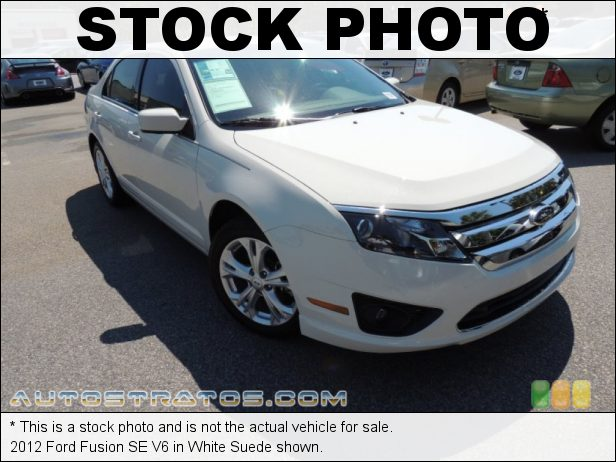 Stock photo for this 2012 Ford Fusion SE V6 3.0 Liter Flex-Fuel DOHC 24-Valve VVT Duratec V6 6 Speed Selectshift Automatic