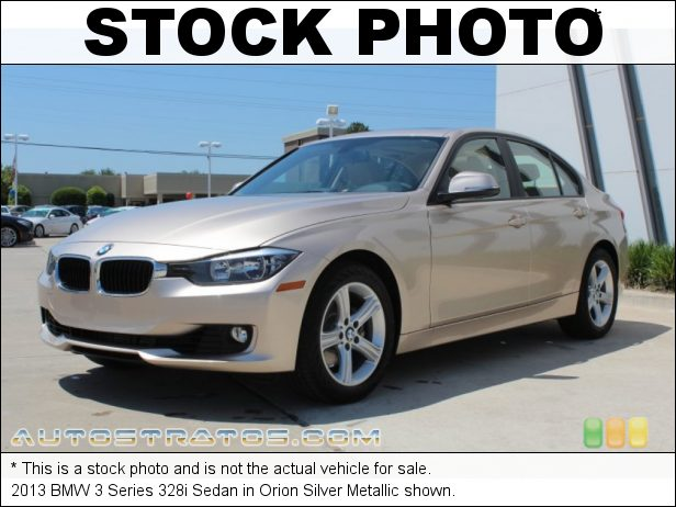 Stock photo for this 2013 BMW 3 Series 328i Sedan 2.0 Liter DI TwinPower Turbocharged DOHC 16-Valve VVT 4 Cylinder 8 Speed Automatic