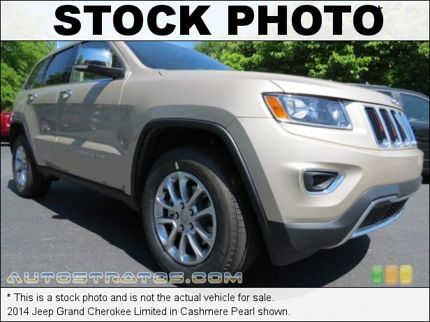 Stock photo for this 2014 Jeep Grand Cherokee Limited 3.6 Liter DOHC 24-Valve VVT Pentastar V6 8 Speed Automatic