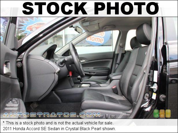 Stock photo for this 2011 Honda Accord SE Sedan 2.4 Liter DOHC 16-Valve i-VTEC 4 Cylinder 5 Speed Automatic