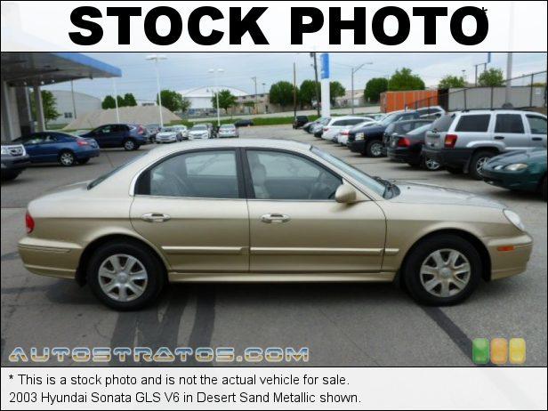 Stock photo for this 2003 Hyundai Sonata V6 2.7 Liter DOHC 24-Valve V6 4 Speed Automatic