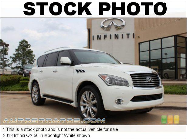 Stock photo for this 2013 Infiniti QX 56 5.6 Liter DIG DOHC 32-Valve VVEL CVTCS V8 7 Speed ASC Automatic