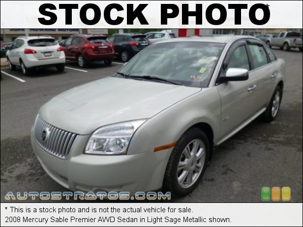 Stock photo for this 2008 Mercury Sable Premier AWD Sedan 3.5L DOHC 24V VVT Duratec V6 6 Speed Automatic