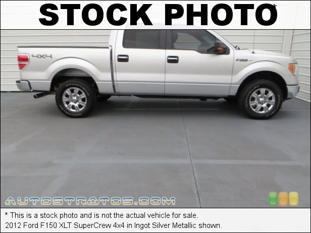Stock photo for this 2012 Ford F150 SuperCrew 4x4 5.0 Liter Flex-Fuel DOHC 32-Valve Ti-VCT V8 6 Speed Automatic