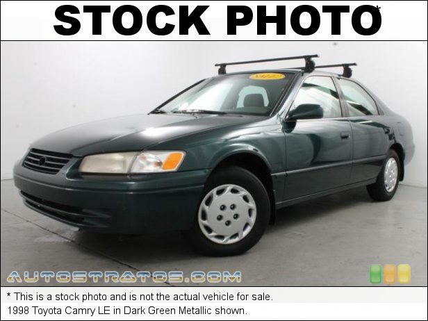 Stock photo for this 1998 Toyota Camry LE 2.2 Liter DOHC 16-Valve 4 Cylinder 4 Speed Automatic