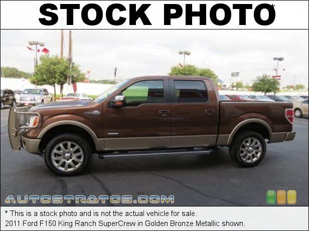 Stock photo for this 2011 Ford F150 SuperCrew 3.5 Liter GTDI EcoBoost Twin-Turbocharged DOHC 24-Valve VVT V6 6 Speed Automatic