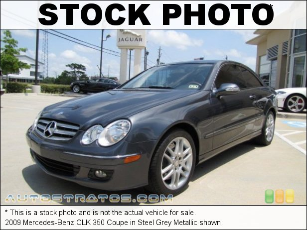 Stock photo for this 2009 Mercedes-Benz CLK 350 Coupe 3.5 Liter DOHC 24-Valve VVT V6 7 Speed Automatic