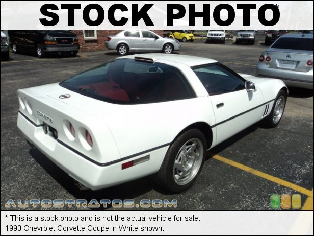 Stock photo for this 1990 Chevrolet Corvette Coupe 5.7 Liter Callaway Twin-Turbocharged OHV 16-Valve V8 4 Speed Automatic