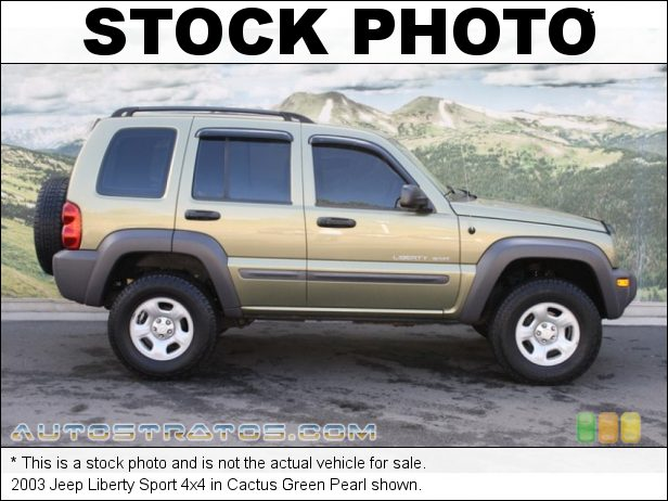 Stock photo for this 2003 Jeep Liberty Sport 4x4 3.7 Liter SOHC 12-Valve Powertech V6 5 Speed Manual