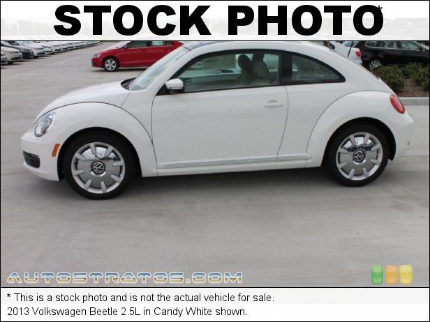 Stock photo for this 2013 Volkswagen Beetle 2.5L 2.5 Liter DOHC 20-Valve VVT 5 Cylinder 6 Speed Tiptronic Automatic