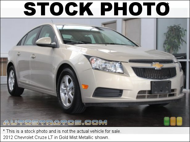 Stock photo for this 2012 Chevrolet Cruze  1.4 Liter DI Turbocharged DOHC 16-Valve VVT 4 Cylinder 6 Speed Automatic