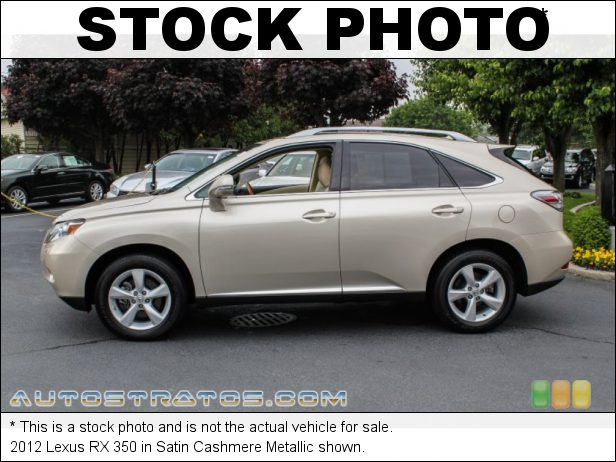 Stock photo for this 2015 Lexus RX 350 3.5 Liter DOHC 24-Valve VVT-i V6 6 Speed ECT-i Automatic