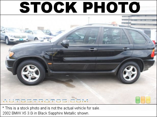 Stock photo for this 2002 BMW X5 3.0i 3.0 Liter DOHC 24V Inline 6 Cylinder 5 Speed Automatic