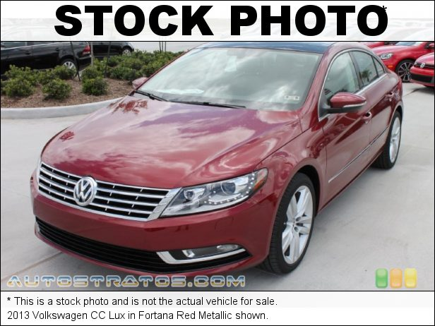 Stock photo for this 2013 Volkswagen CC Lux 2.0 Liter FSI Turbocharged DOHC 16-Valve VVT 4 Cylinder 6 Speed DSG Dual-Clutch Automatic