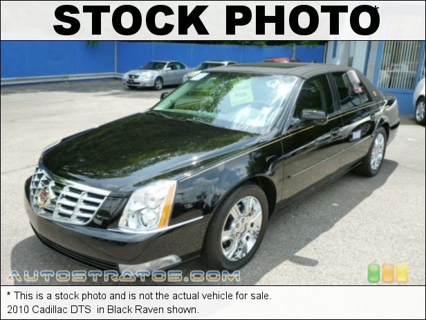 Stock photo for this 2010 Cadillac DTS  4.6 Liter DOHC 32-Valve Northstar V8 4 Speed Automatic