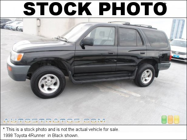 Stock photo for this 1998 Toyota 4Runner  2.7 Liter DOHC 16-Valve 4 Cylinder 4 Speed Automatic