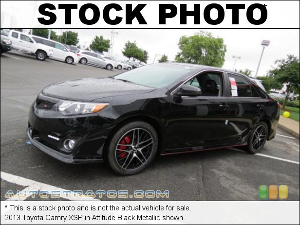 Stock photo for this 2013 Toyota Camry  2.5 Liter DOHC 16-Valve Dual VVT-i 4 Cylinder 6 Speed ECT-i Automatic