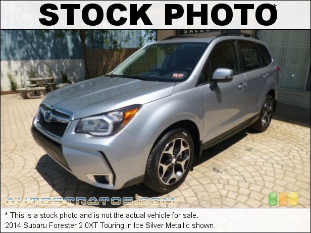 Stock photo for this 2014 Subaru Forester 2.0XT Touring 2.0 Liter Turbocharged DOHC 16-Valve VVT Flat 4 Cylinder Lineartronic CVT Automatic