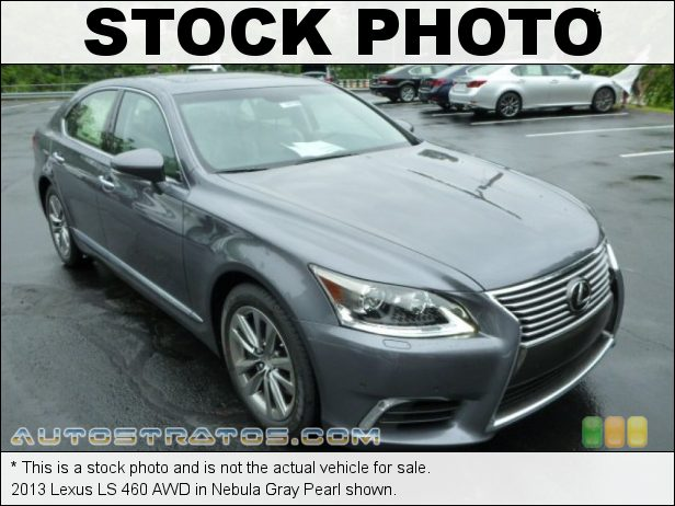 Stock photo for this 2013 Lexus LS 460 AWD 4.6 Liter DI DOHC 32-Valve VVT-iE V8 8 Speed ECT-i Automatic