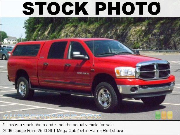 Stock photo for this 2006 Dodge Ram 2500 Mega Cab 5.7 Liter HEMI OHV 16-Valve V8 5 Speed Automatic
