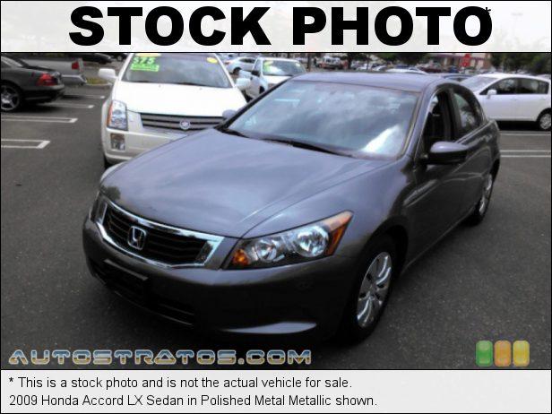 Stock photo for this 2009 Honda Accord LX Sedan 2.4 Liter DOHC 16-Valve i-VTEC 4 Cylinder 5 Speed Automatic