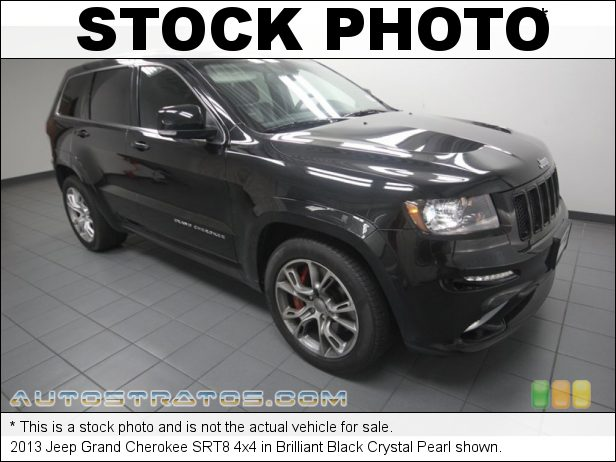 Stock photo for this 2013 Jeep Grand Cherokee SRT8 4x4 6.4 Liter SRT HEMI OHV 16-Valve MDS V8 5 Speed Automatic