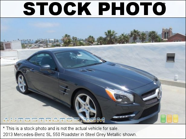 Stock photo for this 2013 Mercedes-Benz SL 550 Roadster 4.6 Liter DI Twin-Turbocharged DOHC 32-Valve VVT V8 7 Speed Automatic