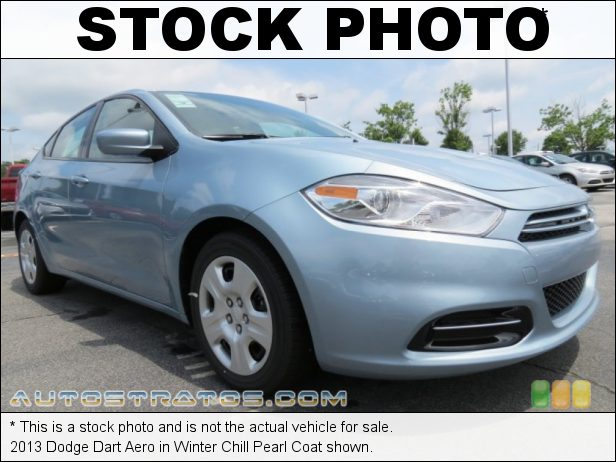 Stock photo for this 2013 Dodge Dart Aero 1.4 Liter Turbocharged SOHC 16-Valve MultiAir 4 Cylinder 6 Speed Manual