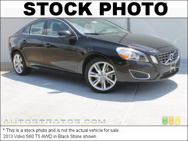 Stock photo for this 2014 Volvo S60 T5 AWD 2.5 Liter Turbocharged DOHC 20-Valve VVT Inline 5 Cylinder 6 Speed Geartronic Automatic