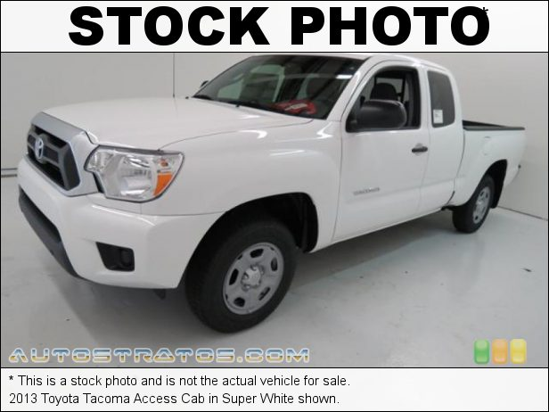 Stock photo for this 2013 Toyota Tacoma Access Cab 2.7 Liter DOHC 16-Valve VVT-i 4 Cylinder 4 Speed ECT-i Automatic