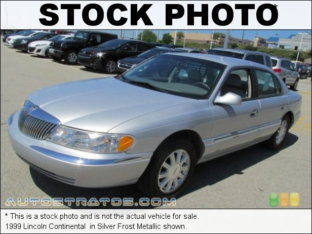 Stock photo for this 1999 Lincoln Continental  4.6 Liter DOHC 32-Valve V8 4 Speed Automatic