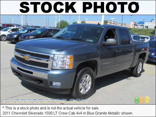 Stock photo for this 2011 Chevrolet Silverado 1500 LT Crew Cab 4x4 5.3 Liter Flex-Fuel OHV 16-Valve VVT Vortec V8 6 Speed Automatic