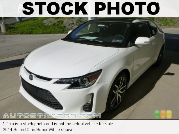 Stock photo for this 2014 Scion tC  2.5 Liter DOHC 16-Valve Dual-VVT 4 Cylinder 6 Speed Sequential Automatic