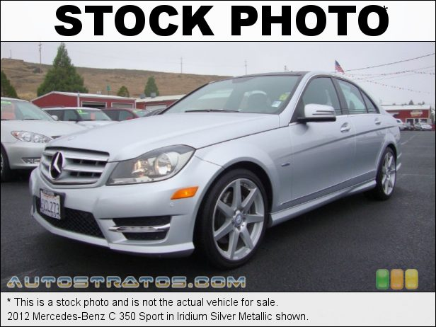 Stock photo for this 2012 Mercedes-Benz C 350 Sport 3.5 Liter DI DOHC 24-Valve VVT V6 7 Speed Automatic