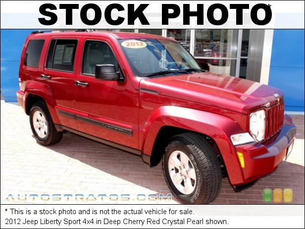 Stock photo for this 2012 Jeep Liberty 4x4 3.7 Liter SOHC 12-Valve V6 4 Speed Automatic