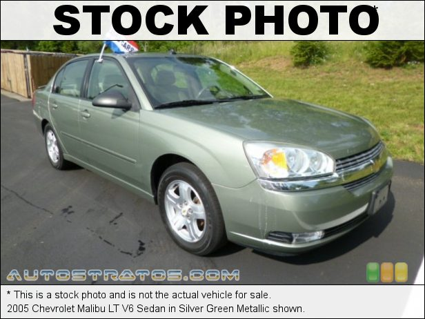 Stock photo for this 2005 Chevrolet Malibu LT V6 Sedan 3.5 Liter OHV 12-Valve V6 4 Speed Automatic