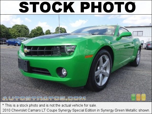 Stock photo for this 2010 Chevrolet Camaro Coupe 3.6 Liter SIDI DOHC 24-Valve VVT V6 6 Speed TAPshift Automatic