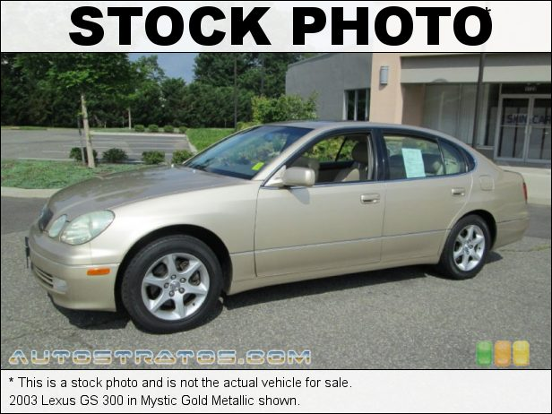 Stock photo for this 2003 Lexus GS 300 3.0 Liter DOHC 24-Valve VVT-i Inline 6 Cylinder 5 Speed Automatic