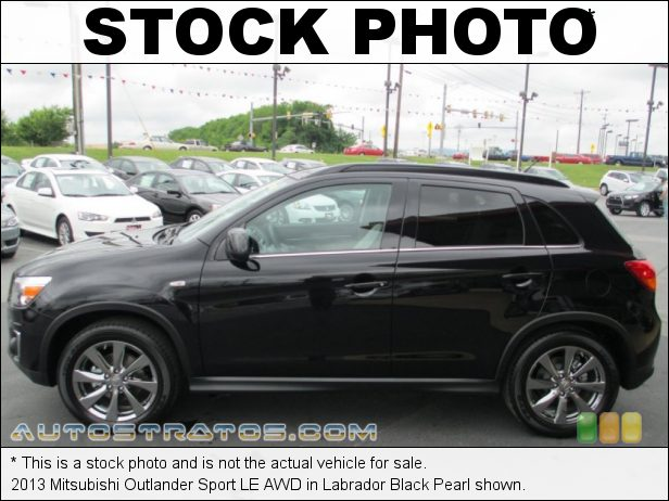 Stock photo for this 2013 Mitsubishi Outlander Sport LE 2.0 Liter DOHC 16-Valve MIVEC 4 Cylinder CVT Sportronic Automatic