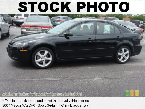 Stock photo for this 2007 Mazda MAZDA6 i 2.3 Liter DOHC 16 Valve VVT Inline 4 Cylinder 5 Speed Sport Automatic