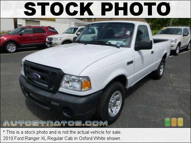 Stock photo for this 2010 Ford Ranger Regular Cab 2.3 Liter DOHC 16-Valve 4 Cylinder 5 Speed Manual