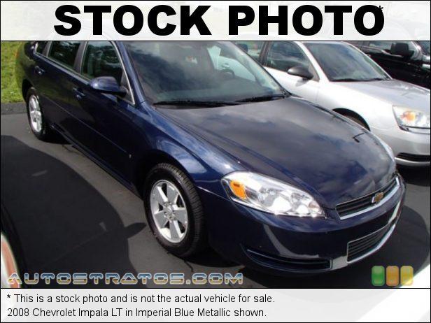Stock photo for this 2008 Chevrolet Impala LT 3.5 Liter OHV 12V VVT LZ4 V6 4 Speed Automatic